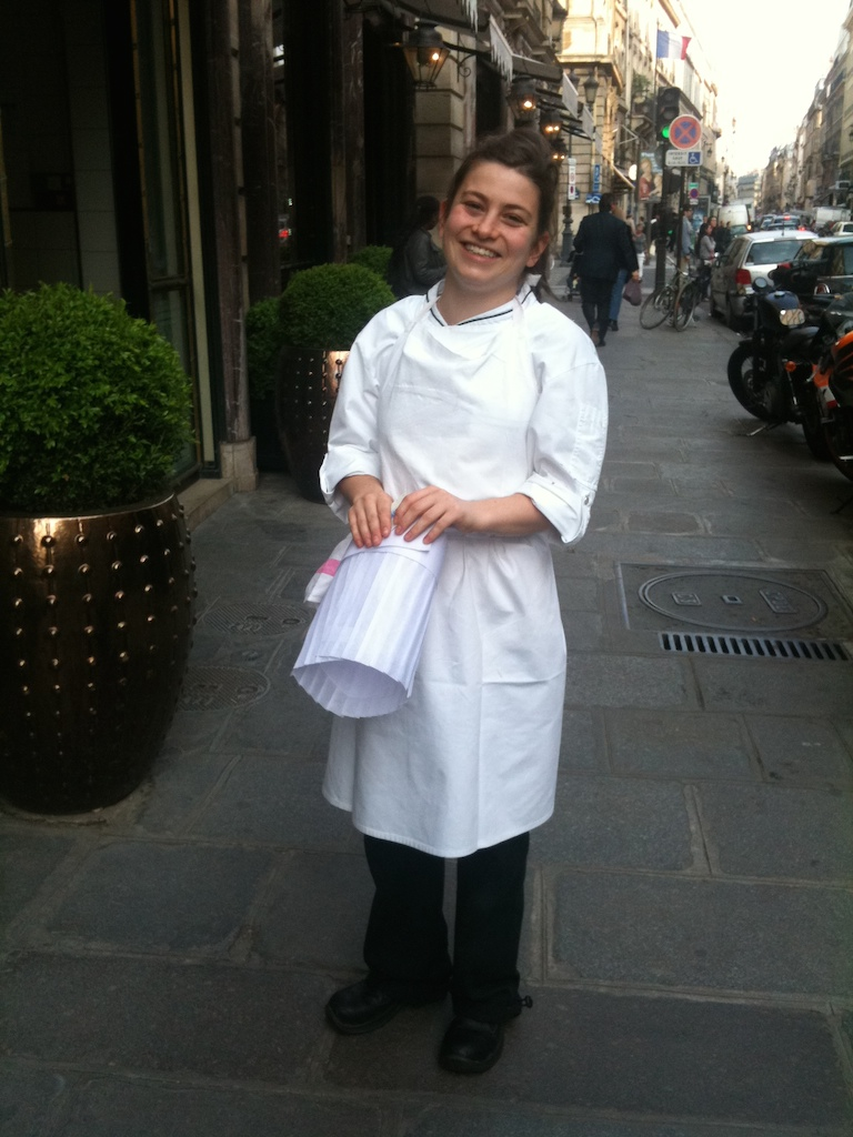 French woman chef