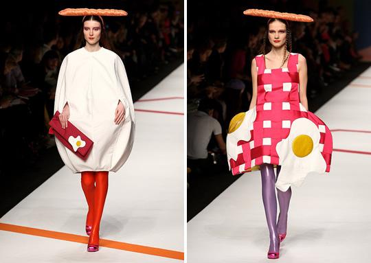 fashion dress designer who chews her food well