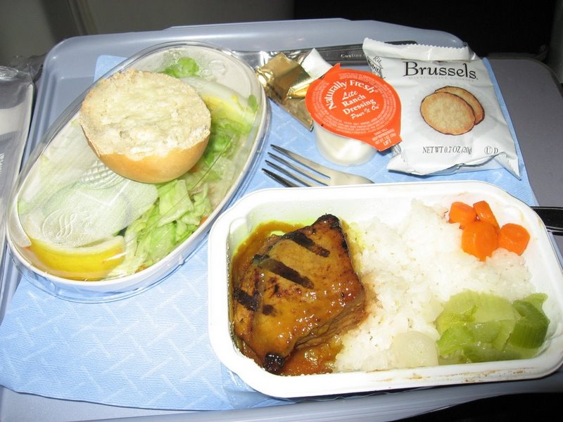 Airplane Food - Don't Believe in Jet Lag