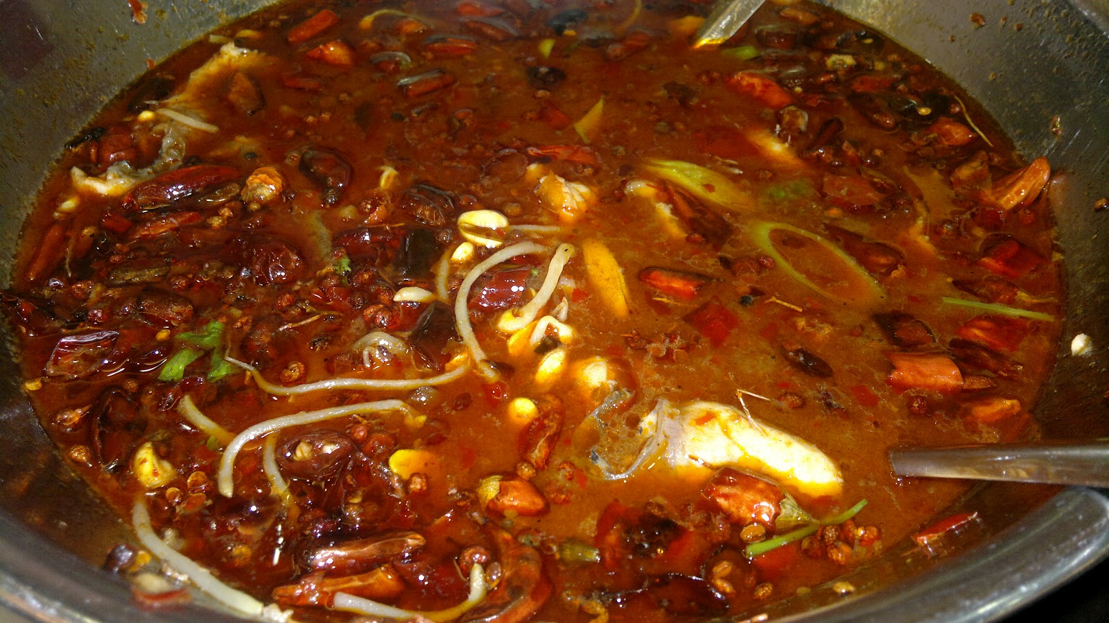Mao Xue Wang Stew (Duck Blood in Chili Sauce)